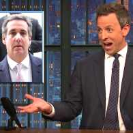 Seth Meyers Trump fired