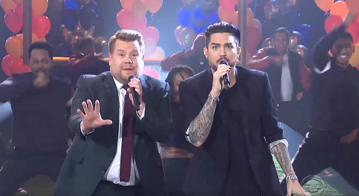 Adam Lambert And James Corden Queen Out In A Musical Recap Of The