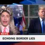border lies Randy Rainbow