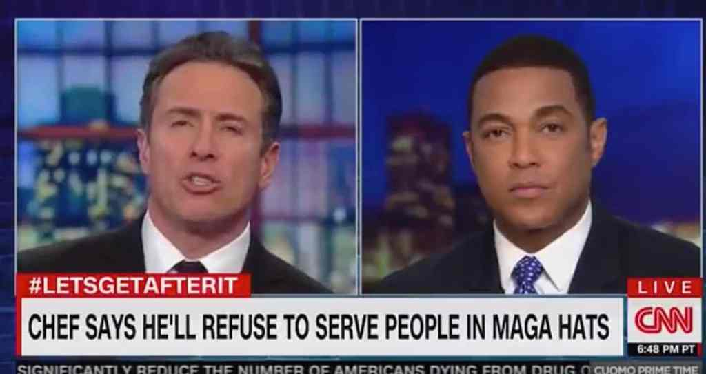 Chris Cuomo Don Lemon Chef MAGA hat