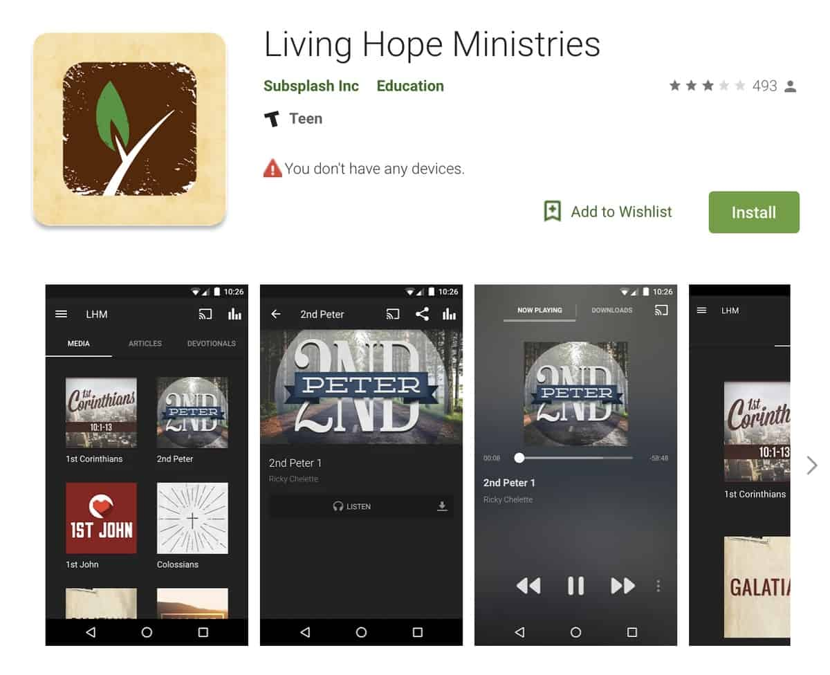 Living Hope Ministries