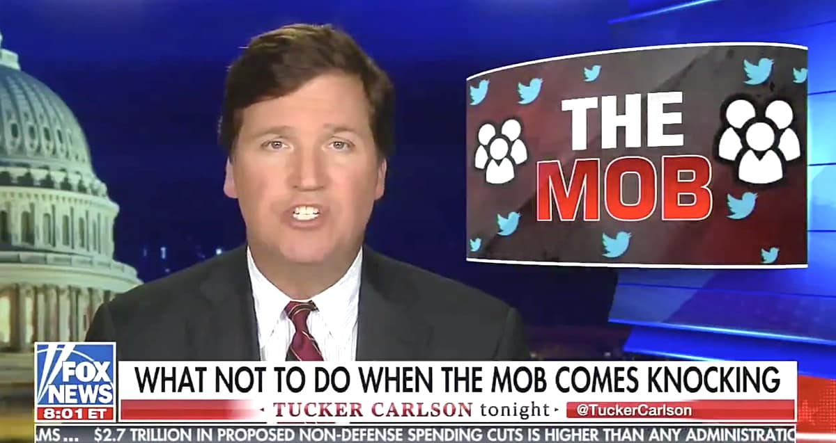 Tucker Carlson Addresses Criticism After Calling Women 'Extremely Primitive' in Resurfaced Audio