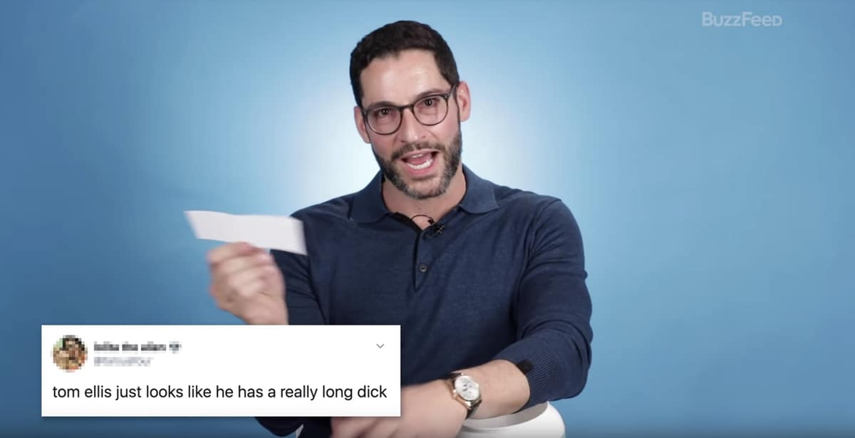 Lucifer's Tom Ellis Reads Tweets from His Very Thirsty