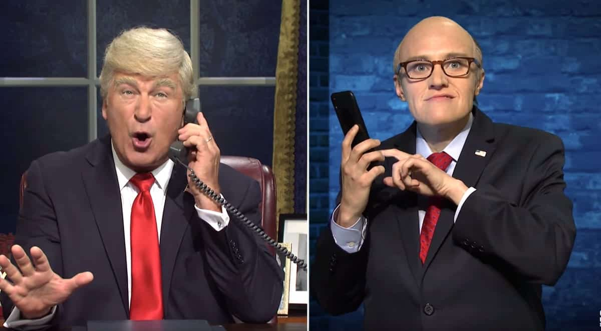 SNL Tackles Ukraine and Trump's Possible Impeachment :: Comedy