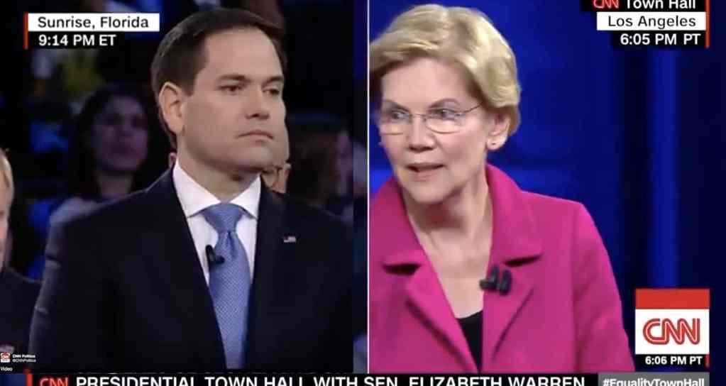 Marco Rubio Elizabeth Warren
