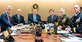 staged trump photo