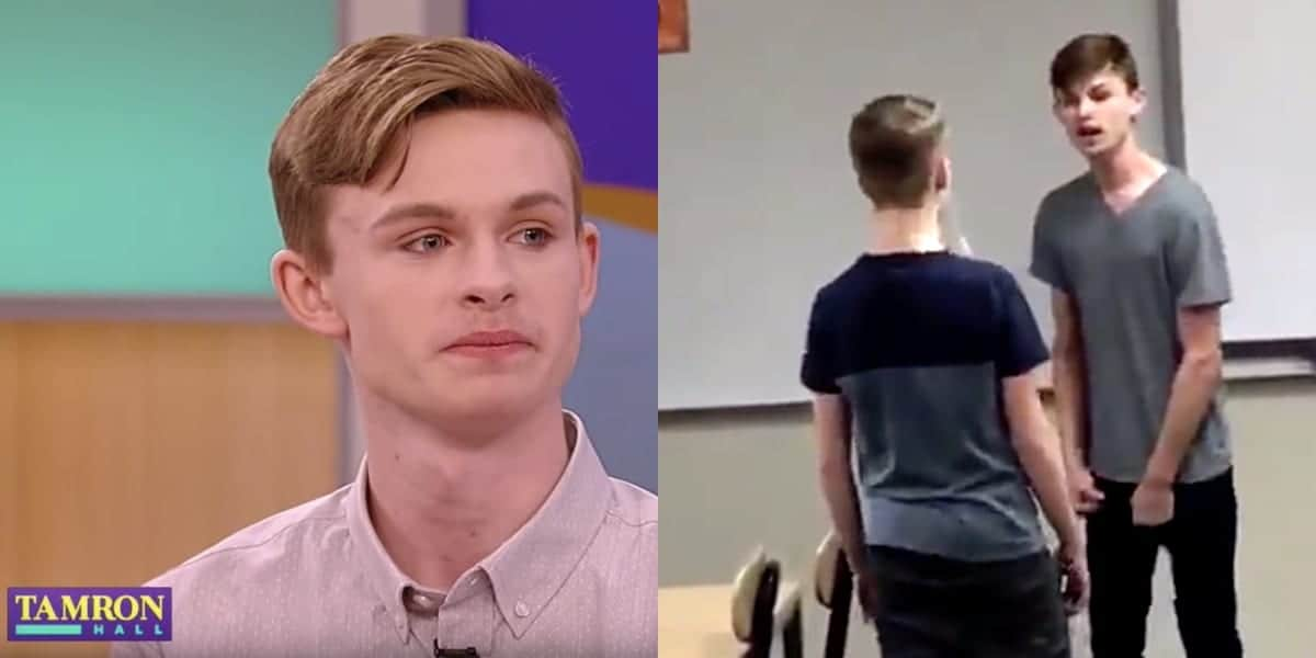 Jordan Steffy, Gay Teen Who Fought Back Against Bully in Viral Video, Tells Story to Tamron Hall: WATCH - Towleroad