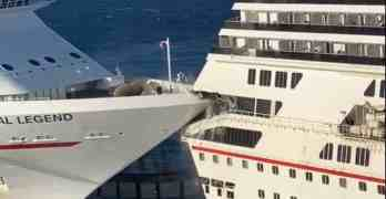 cruise ship collision