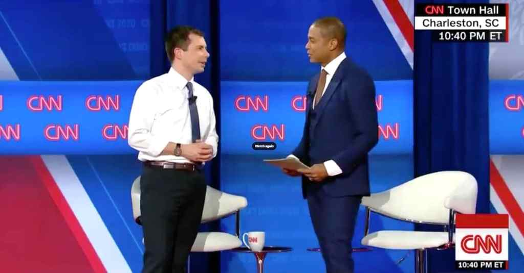 Pete Buttigieg Don Lemon