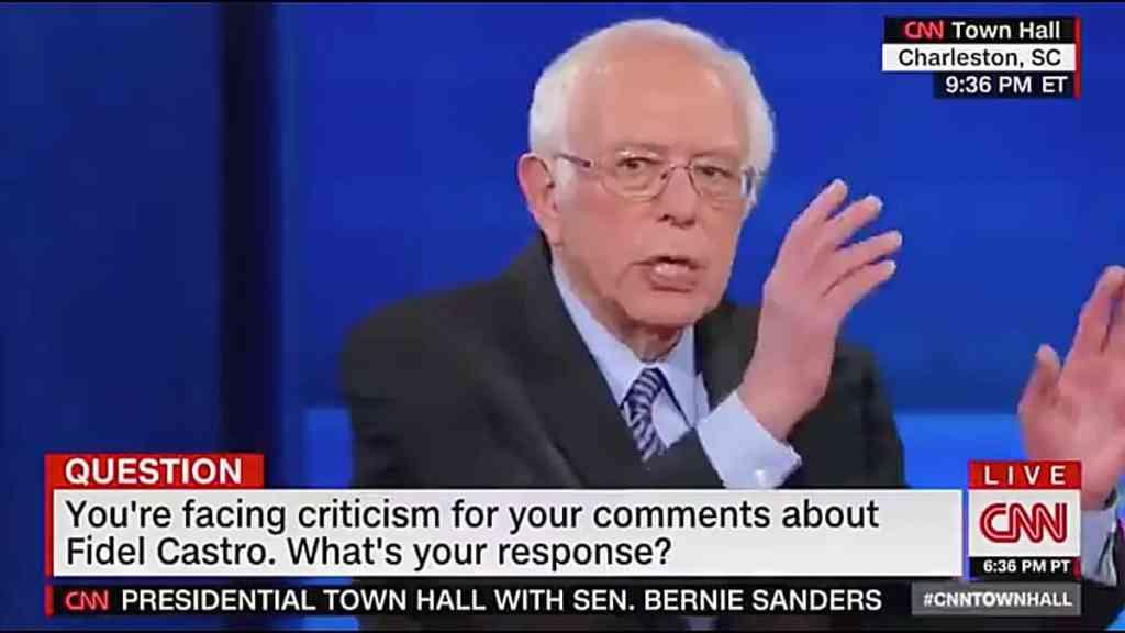 Bernie Sanders Fidel Castro