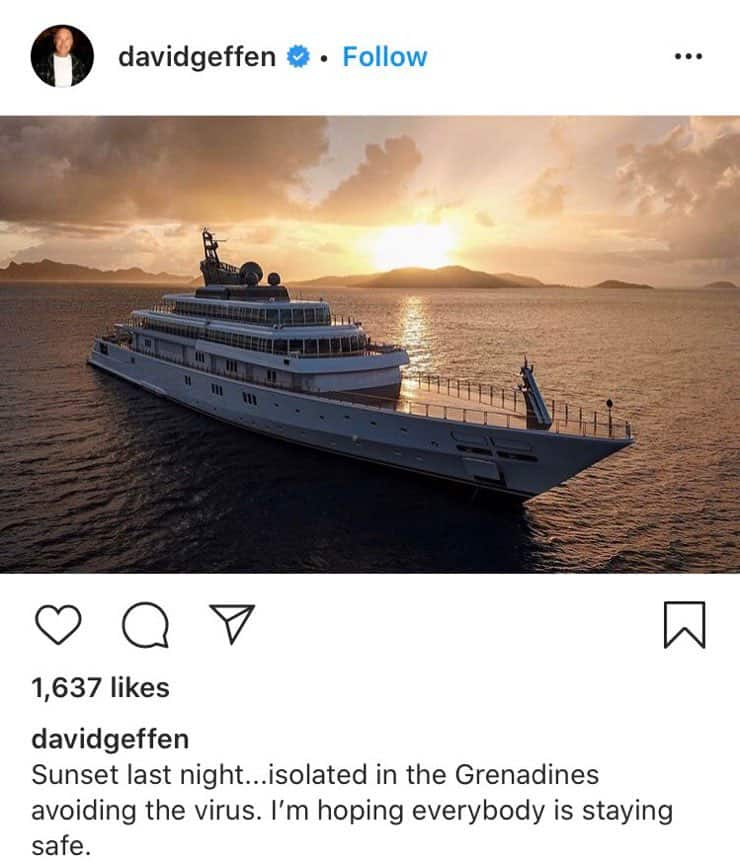 David Geffen yacht