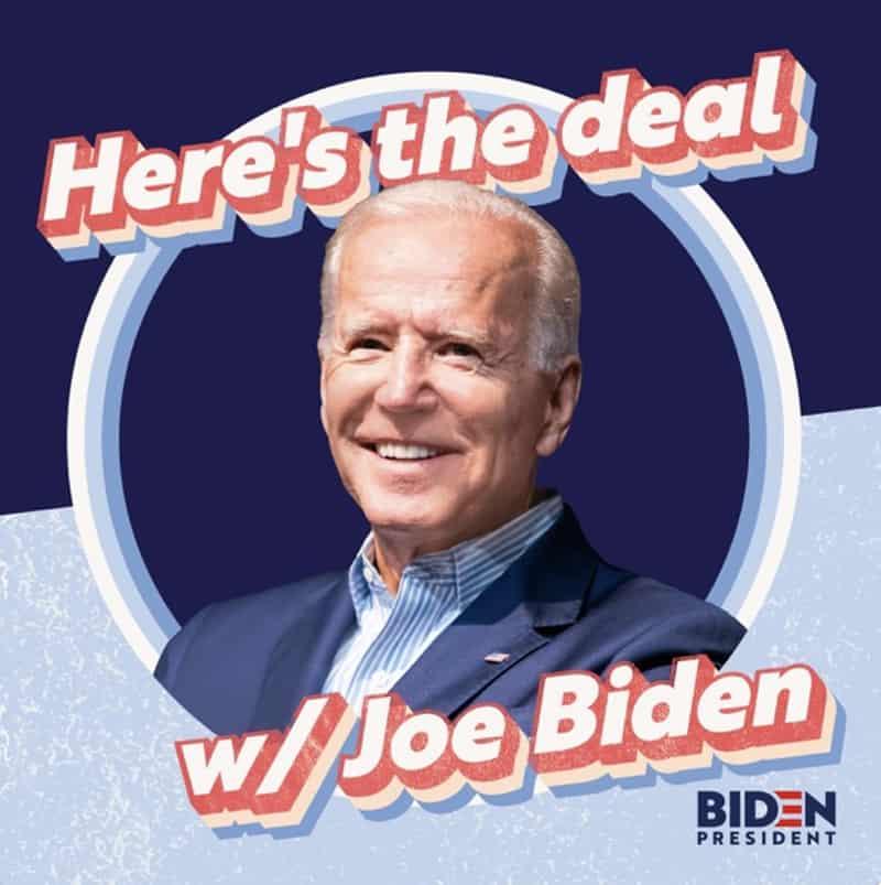 here's the deal joe biden podcast