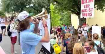 trombonist black lives matter