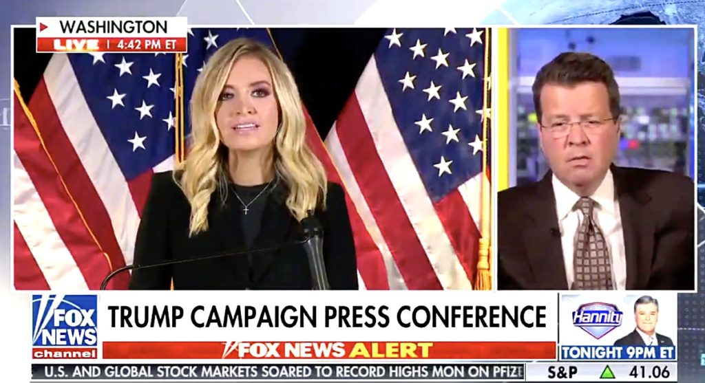 Fox News cuts away from McEnany press conference