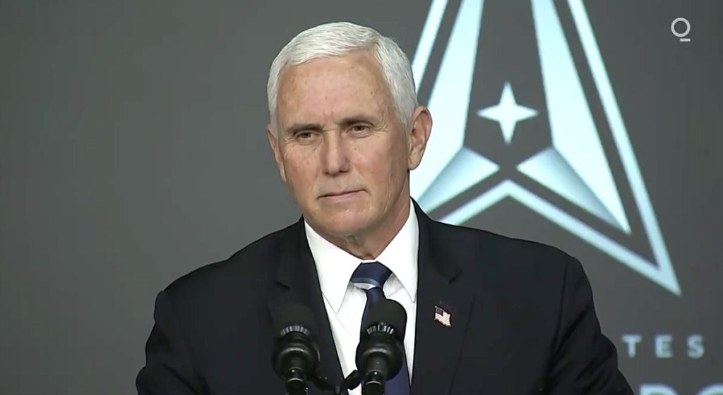 Mike Pence Announced the Name for Members of the US Space Force
