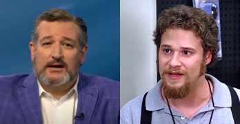 Ted Cruz Seth Rogen