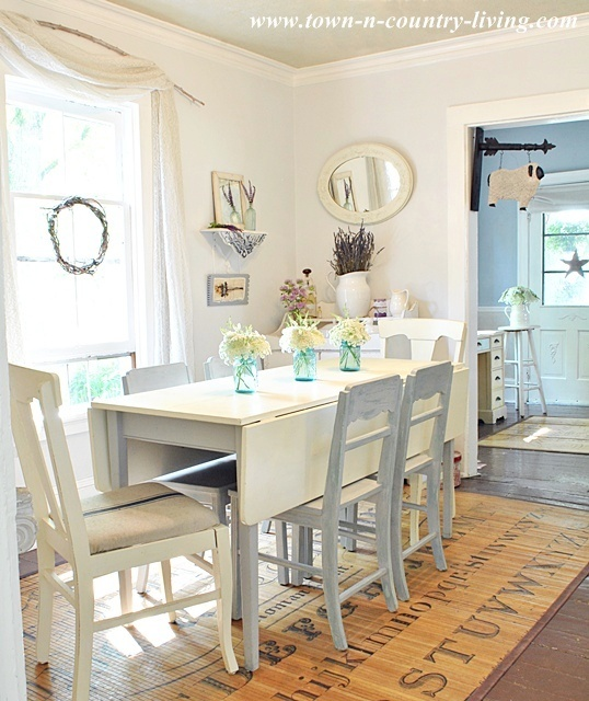 My White Dining Room Town Amp Country Living