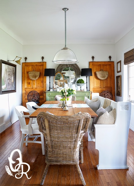 Charming Eclectic Vintage Home Oliver And Rust Town Amp Country Living