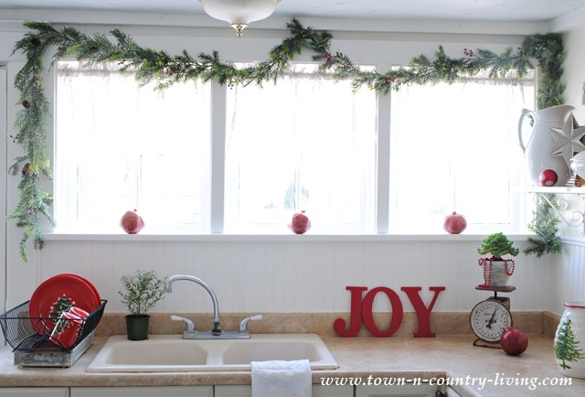 My Christmas Home Tour 2014 Town Amp Country Living