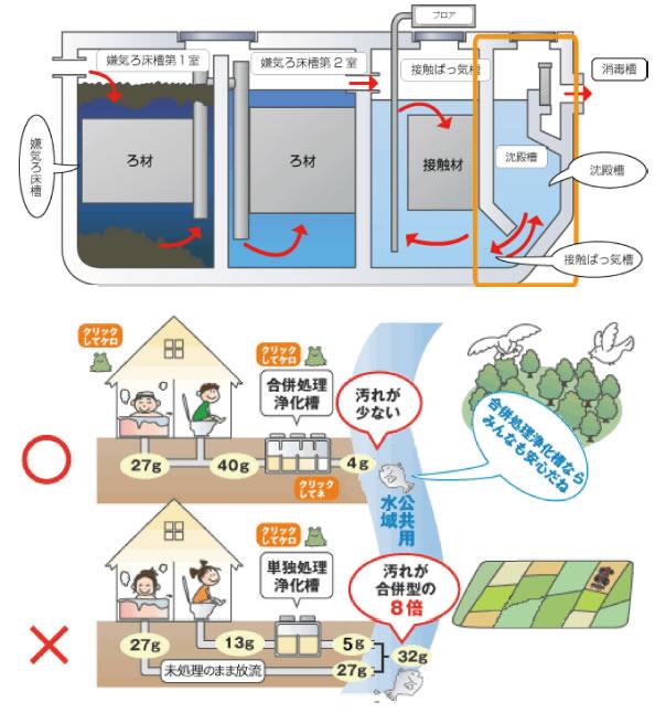 合併処理浄化槽について|鹿児島県龍郷町