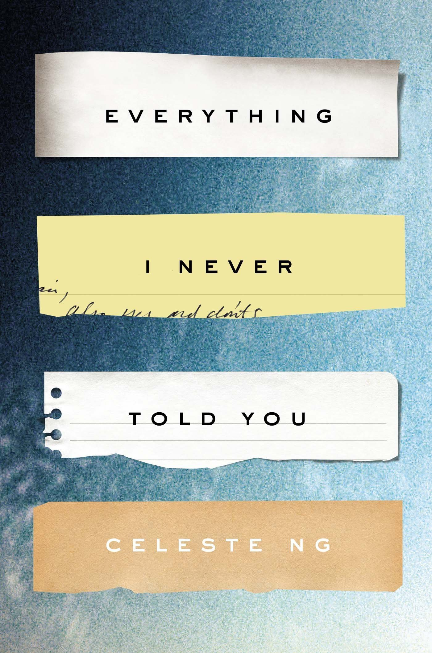 Image result for everything i never told you cover
