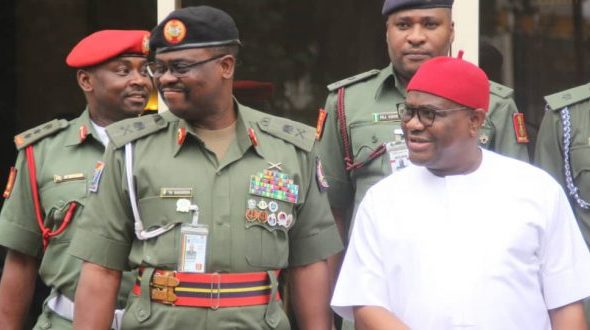Governor Wike To Army Probe Panel on Army Involvement In Election