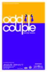 The Odd Couple Poster 2006