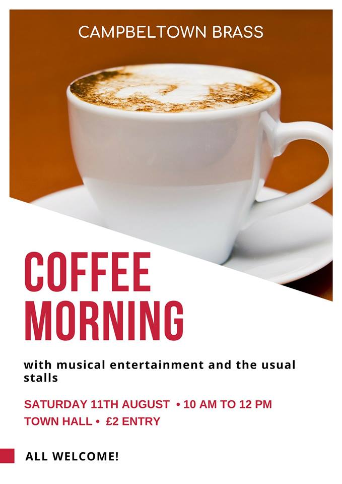 Campbeltown brass coffee morning