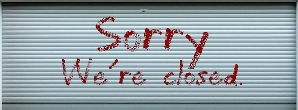 sorry we are closed for a few hours tomorrow