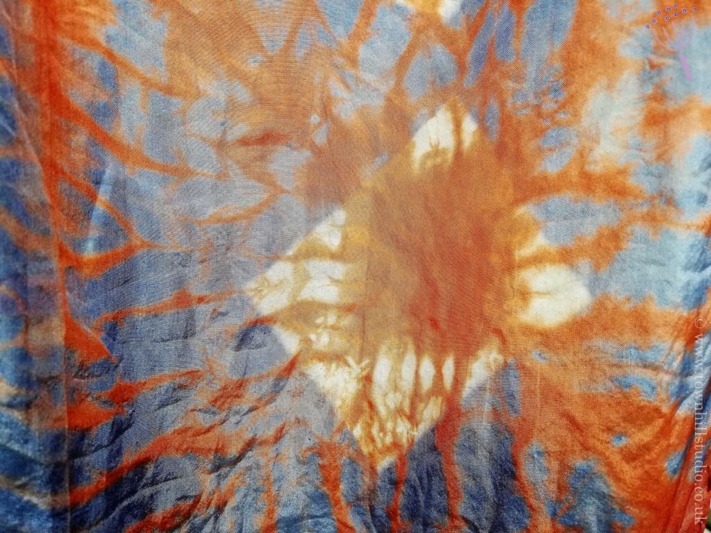 diamond silk scarf detail