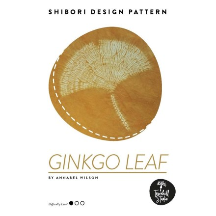 Shows cover of ginkgo leaf pattern