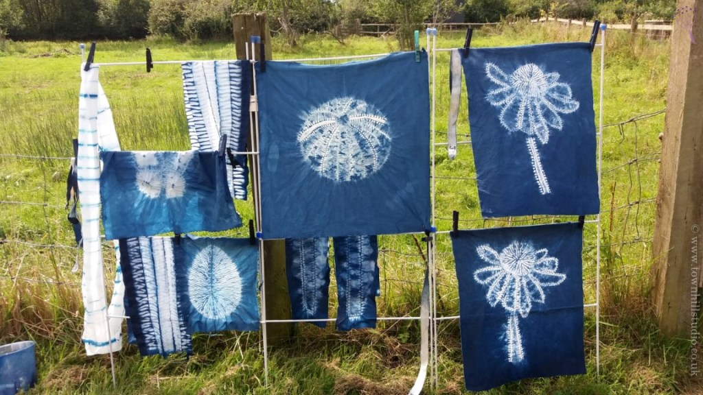 Kingcombe Centre Indigo workshop