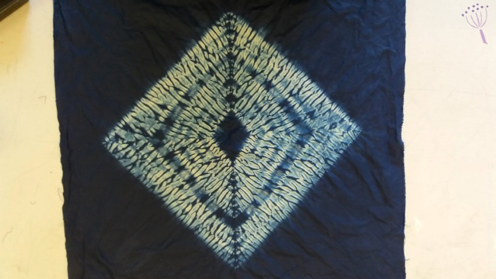 Marys diamond shibori pattern