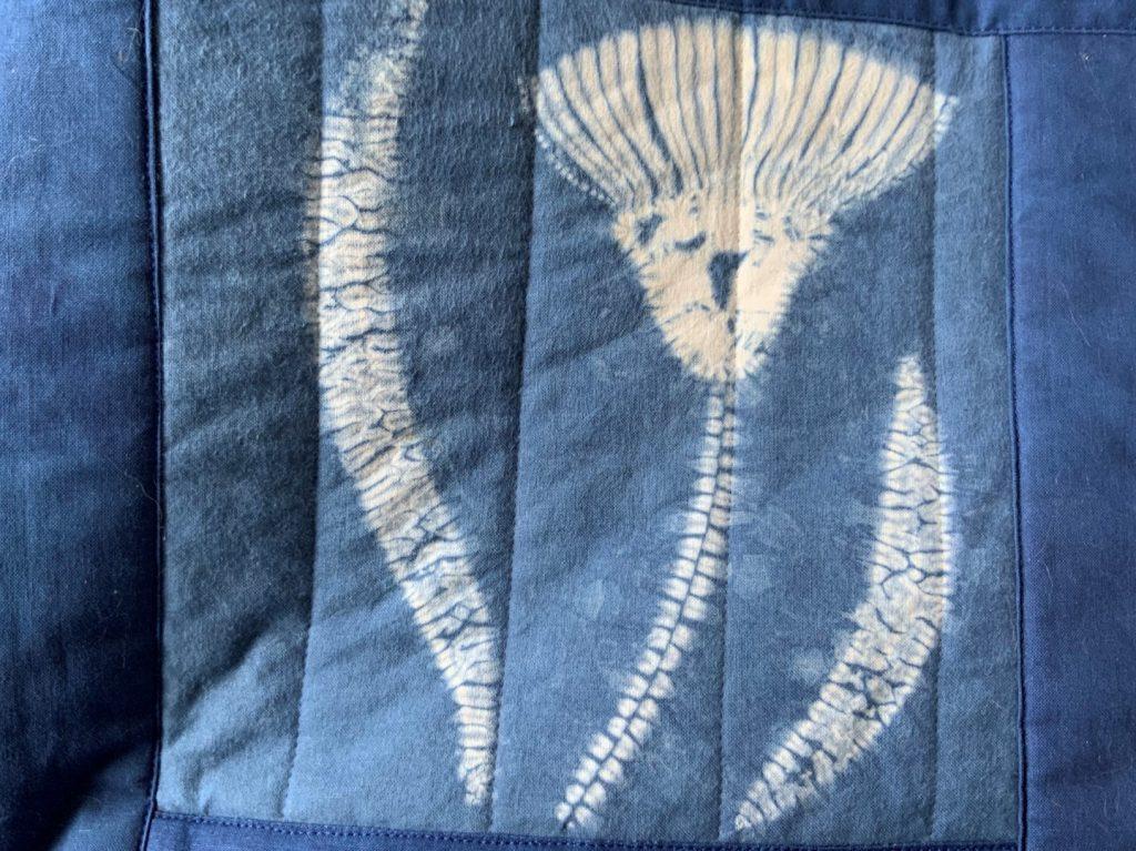 shibori eucalyptus design