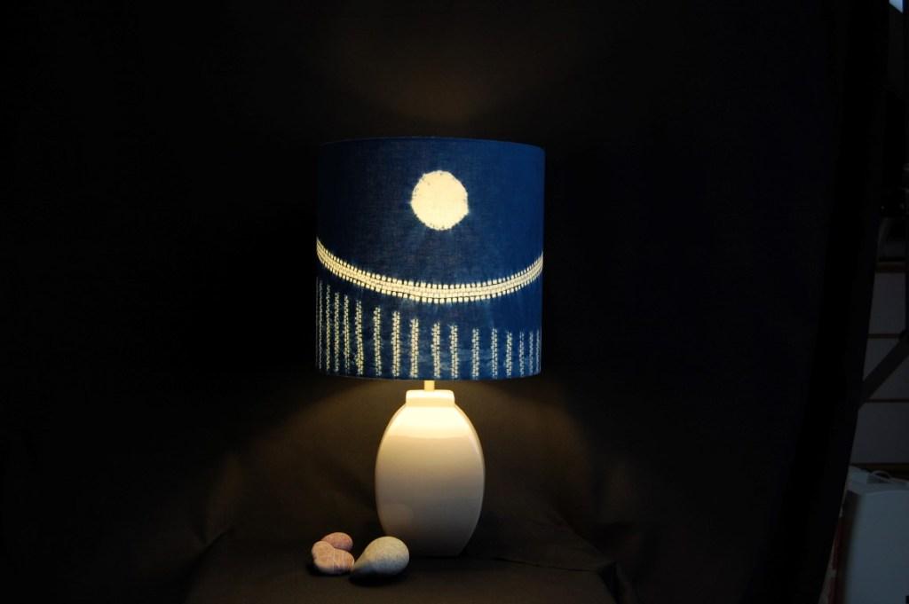 Moon landscape lampshade 30 x 30 cm