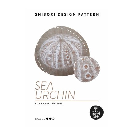 detail of cover of sea urchin pattern