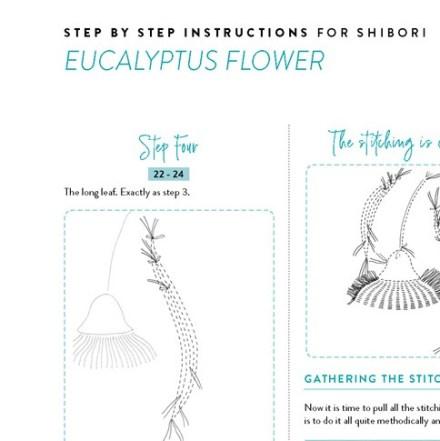 page 7 of shibori eucalyptus pattern