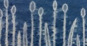 A collection of shibori grasses