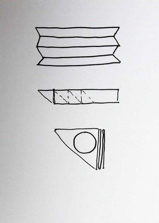 diagram of itajime folding 1