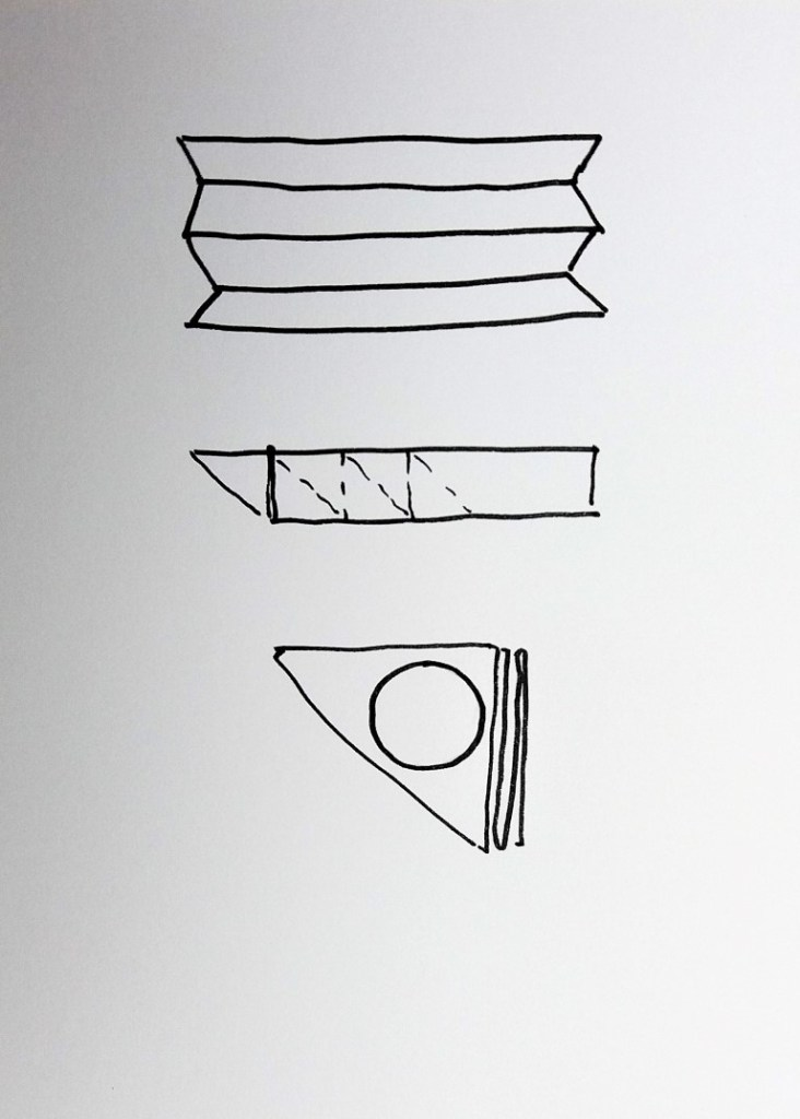 diagram of itajime folding 1