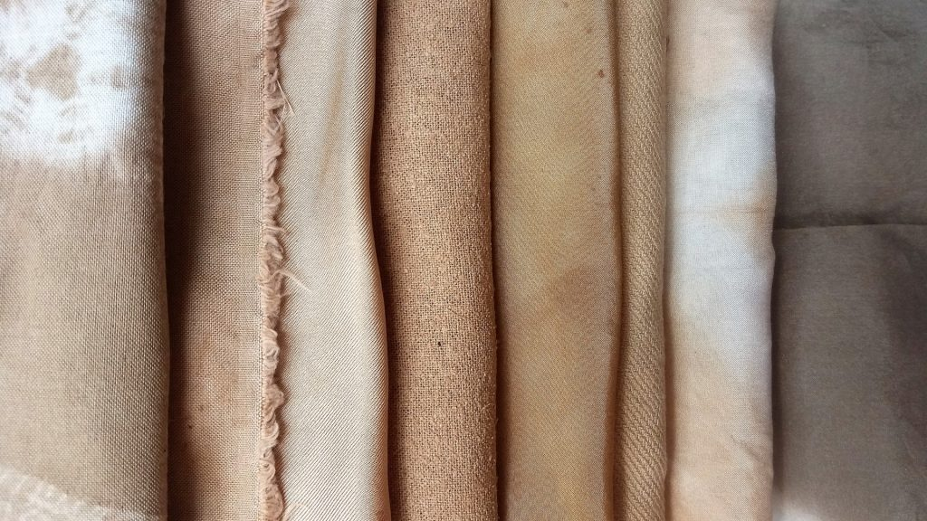 eucalyptus dye samples