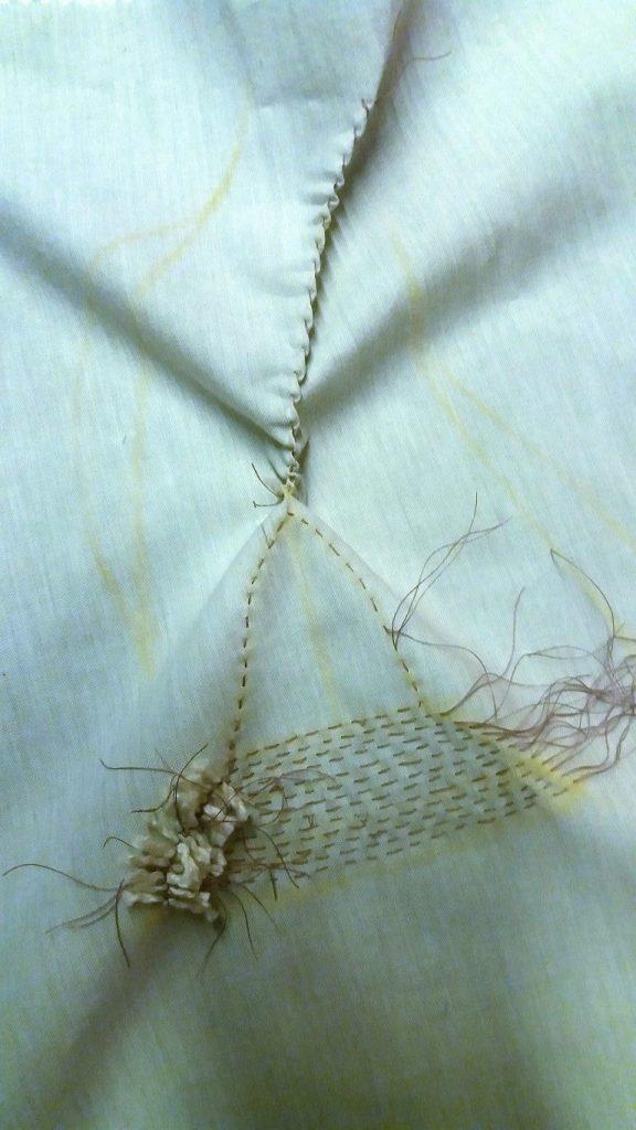eucalyptus shibori sewing