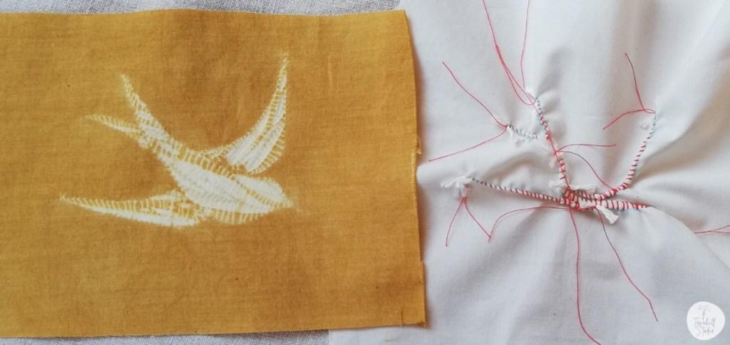 how to make a shibori swallow