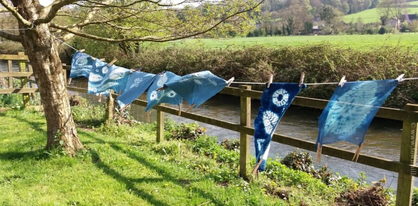 5 superb shibori design ideas from the latest workshop
