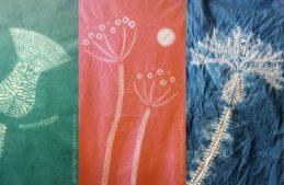 5 creative ideas for fab flowers in shibori stitch resist