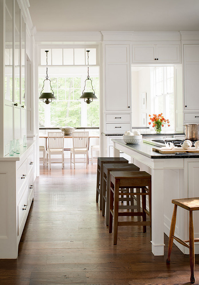Kitchen || Benjamin Moore Color of the Year 2016 || Town Lifestyle + Design