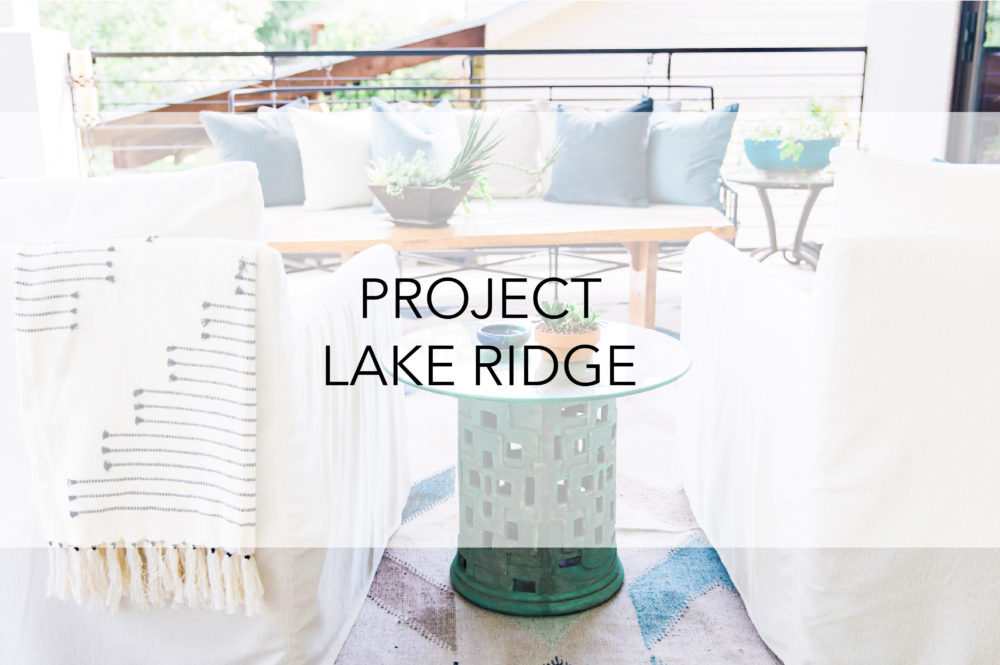Town Lifestyle + Design || Project Lake Ridge