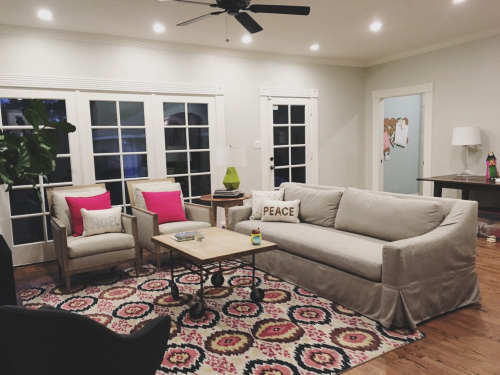 Town Lifestyle and Design || Introducing Project Houston Heights || Family Room Before
