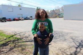 Dayhana and son