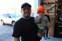 Joe Laska and son